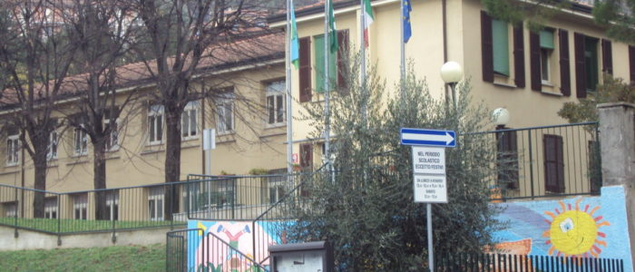 Vista della scuola primaria di Galbiate