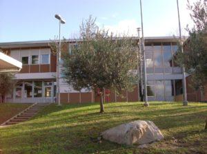 Vista della scuola primaria di Sala al Barro