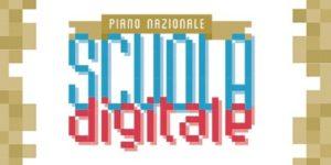 Scritta Piano Nazionale Scuola Digitale