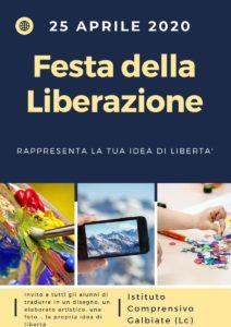 Manifesto Festa della Liberazione