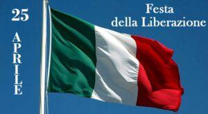 Festa della Liberazione bandiera tricolore